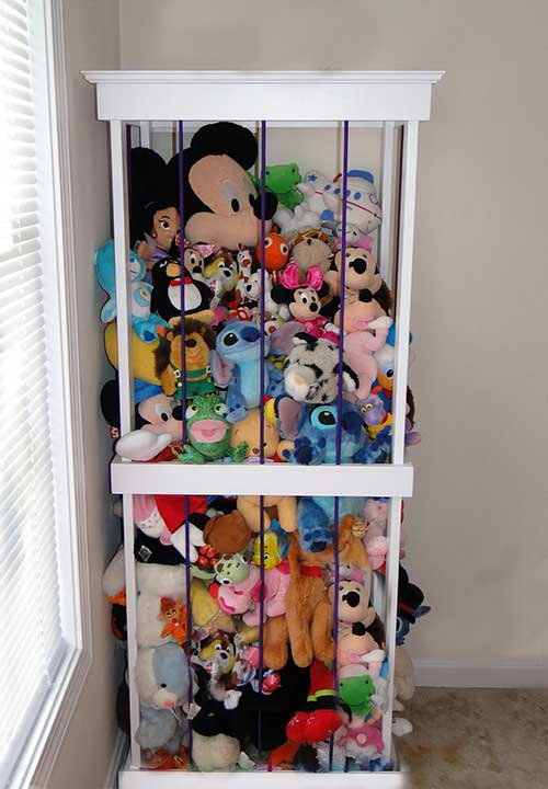 How To Make A Beautiful And Simple Stuffed Animal Storage Diy Created
